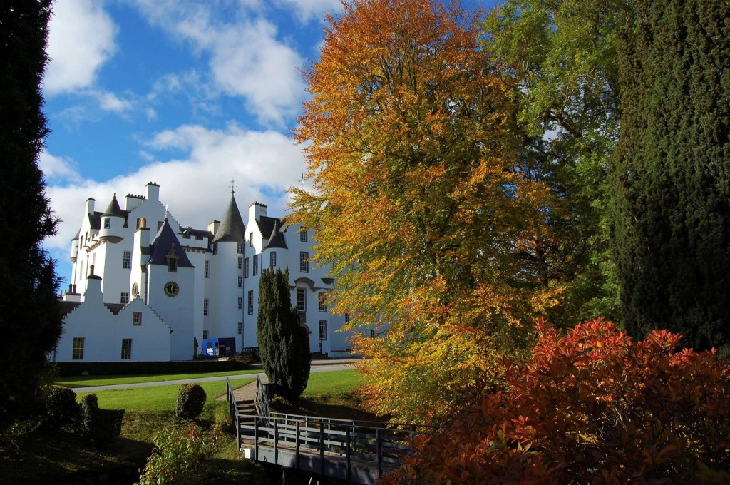 Blair Castle autumn